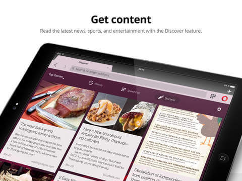 Download Opera for iPad