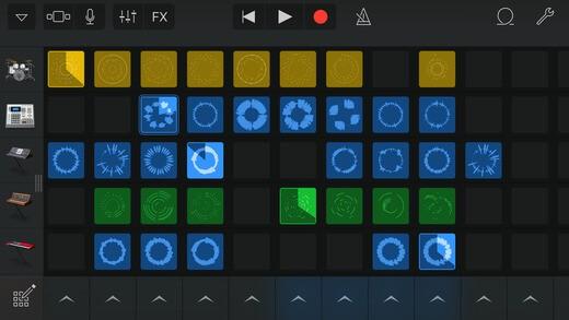 Download GarageBand for iPad