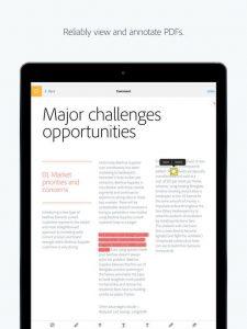 Download Adobe Reader for iPad