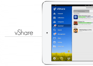 Download vShare for iPad