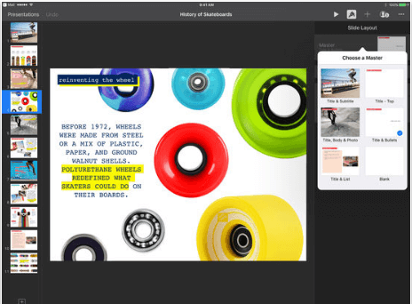Download iWork for iPad