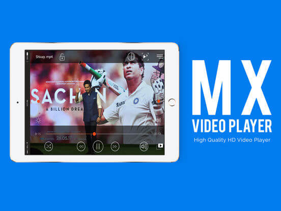 Download MX Video player for iPad