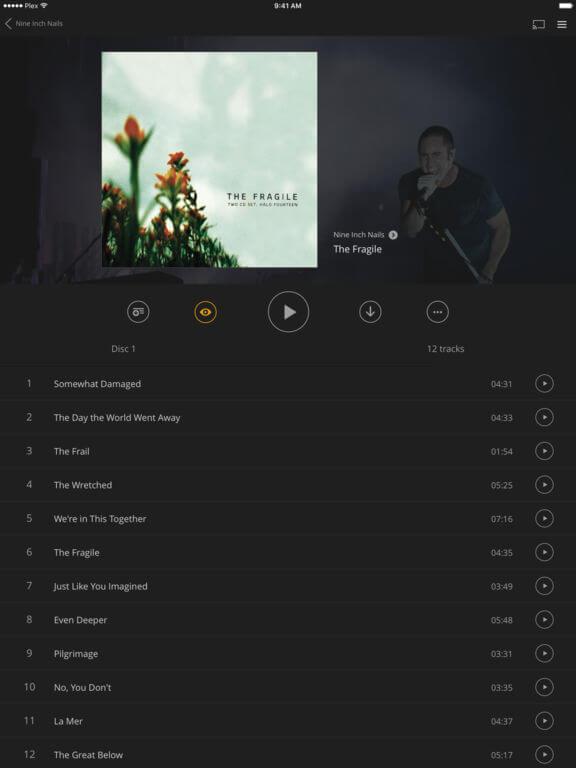 Download Plex for iPad