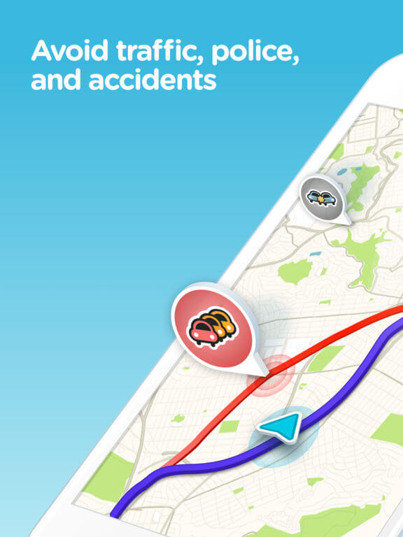 Download Waze for iPad