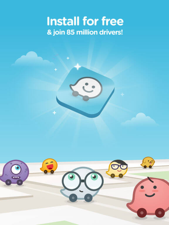 Download Waze for iPadDownload Waze for iPad