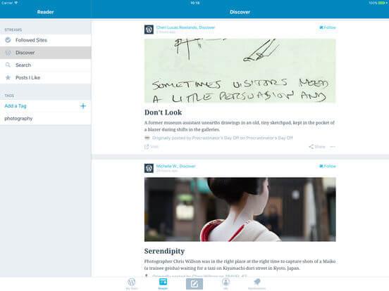 Download WordPress For iPad