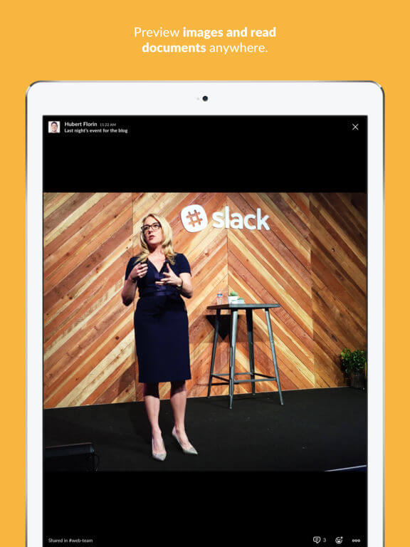 Download Slack for iPad