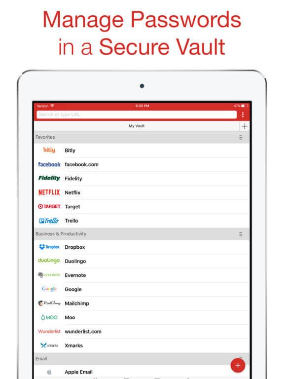 Download LastPass for iPad