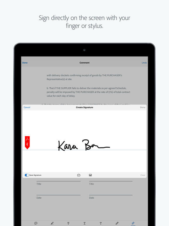 Download Adobe Acrobat Reader for iPad