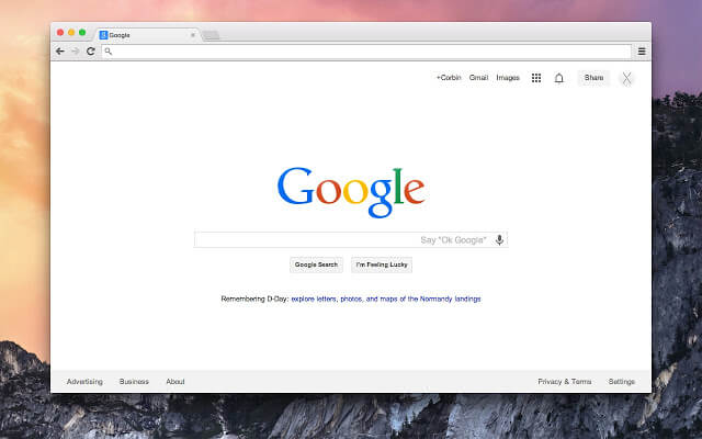 Download Google Chrome for Mac