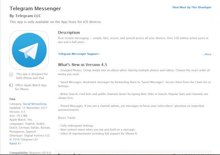 DownloadTelegram for iPad