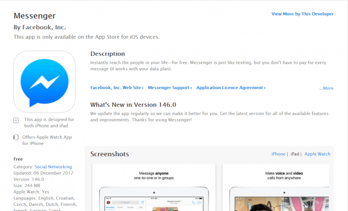 DownloadMessenger for iPad