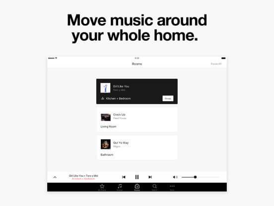 Download Sonos App for iPad