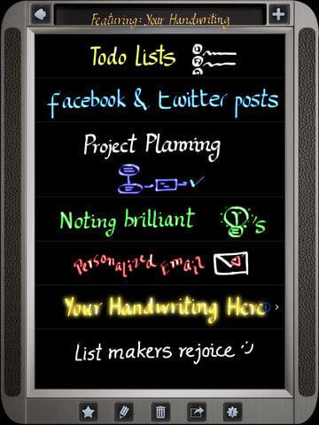 Download Handwriting App for iPad