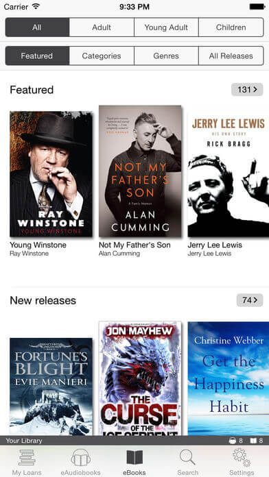 Download Library App for iPad
