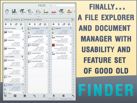 Download Finder for iPad