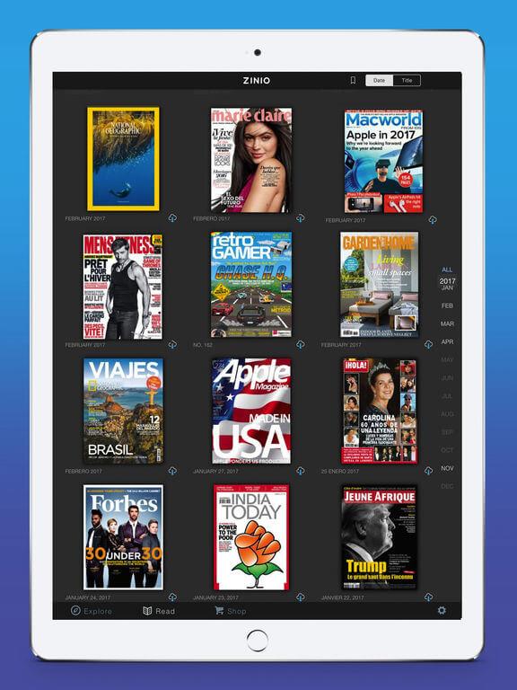 Download Magazine for iPad