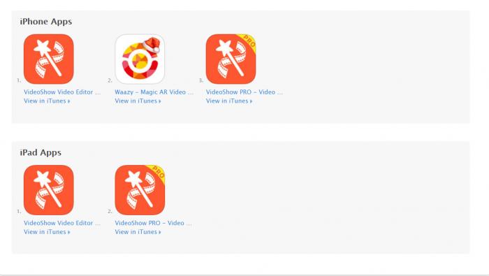 Video Editor App for iPad