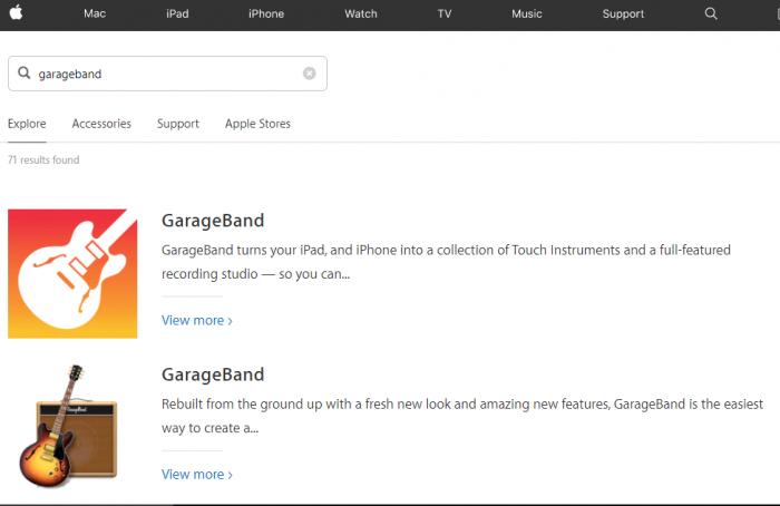 Download GarageBand for Mac