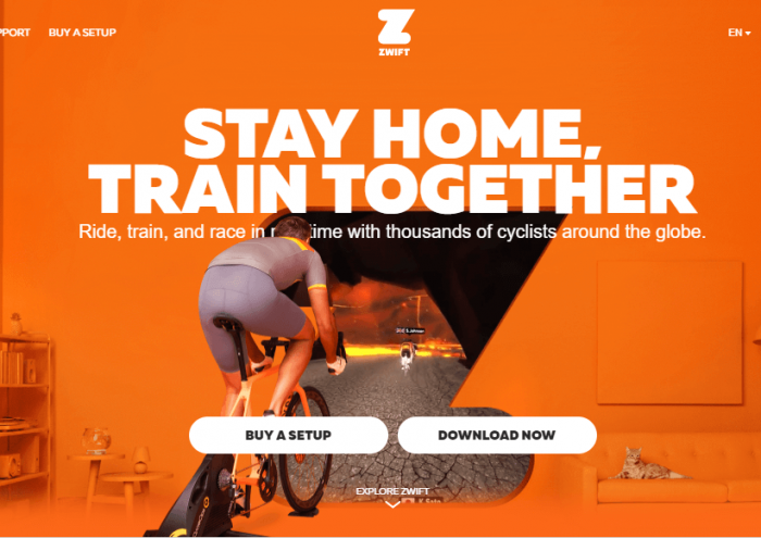 Download Zwift for iPad
