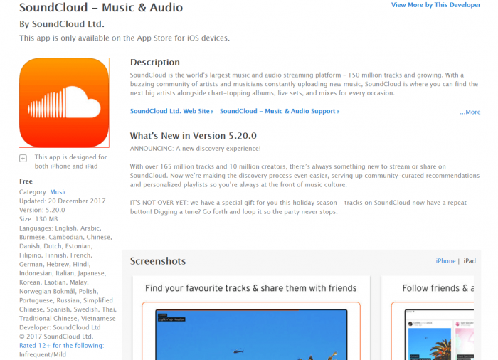 Download Music App for iPad