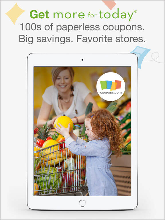 Download Coupons for iPad