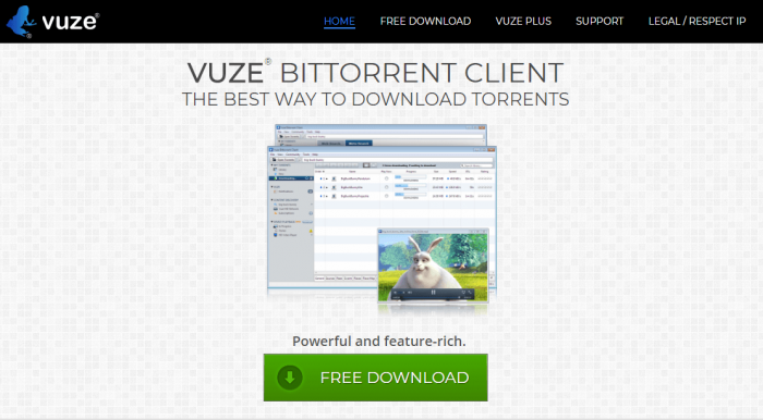 Download Vuze for Mac