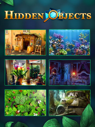 Download Hidden Objects Games for iPad
