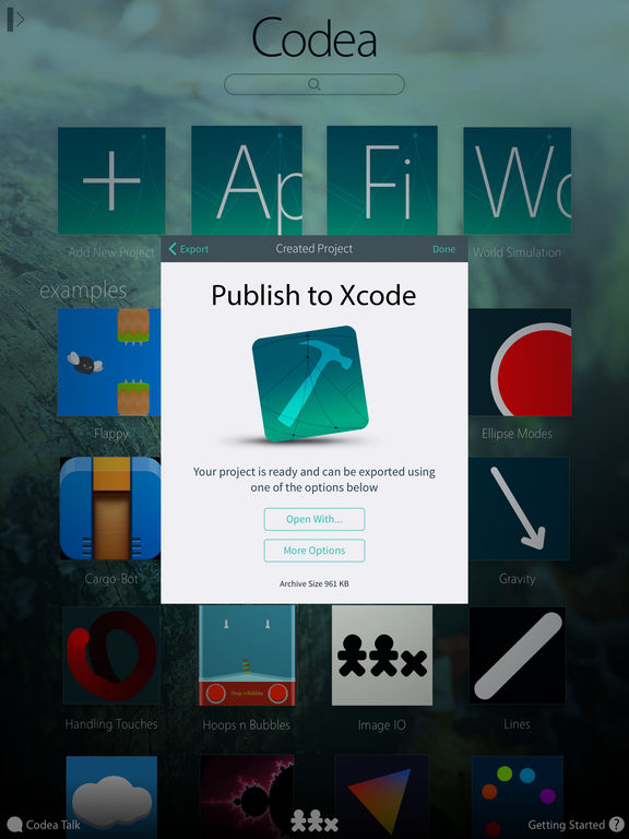 Download IDE for iPad