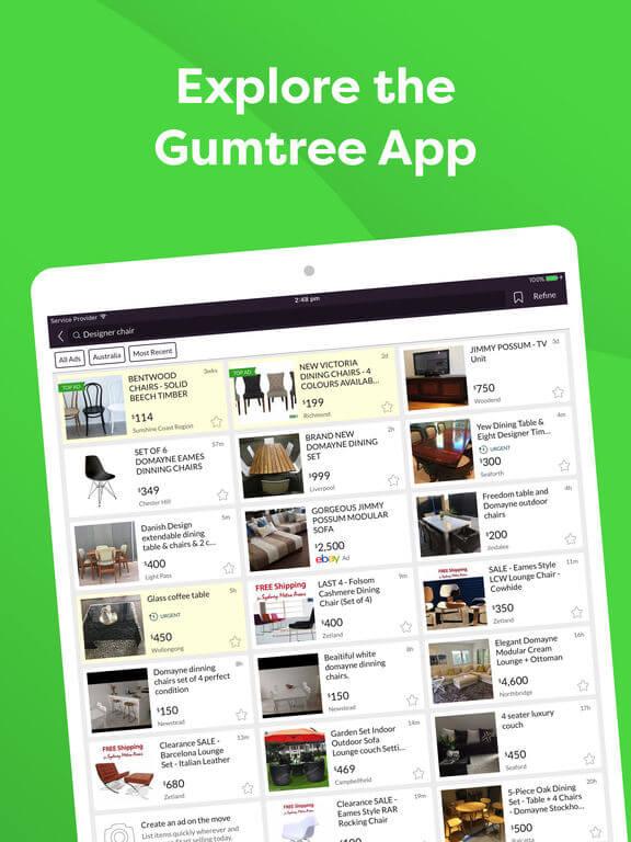 Download Gumtree App for iPad