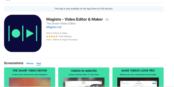 Download Video Editor for iPad