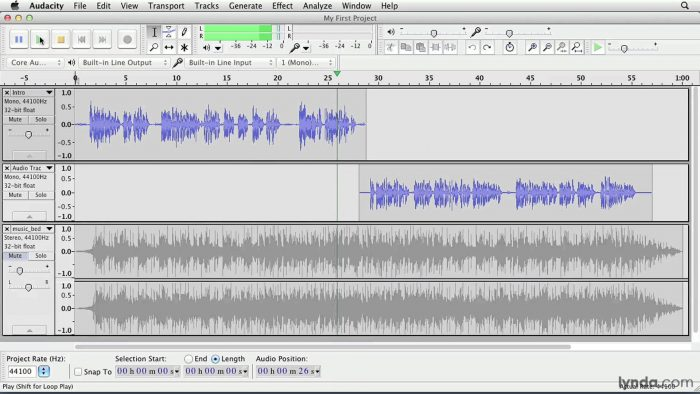 Download Audacity for Mac