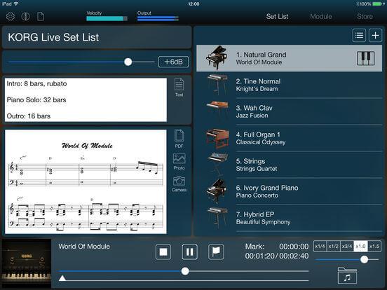 Download Korg Module for iPad