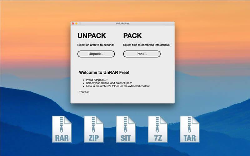 Download UnRAR for Mac